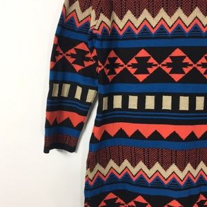 Flying Tomato L Body con sweater dress tribal